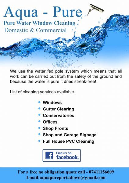 Aqua Pure Window Cleaning Portadown Craigavon Window