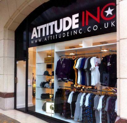 Attitude clothing store