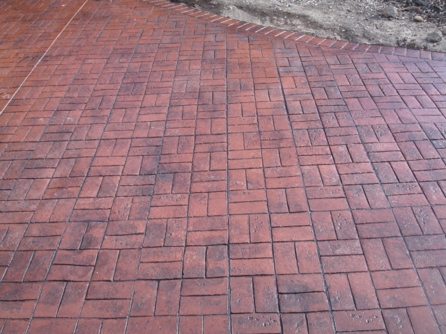 Basket Weave Pattern Paving : Rluk co construction contractor in ilford uk
