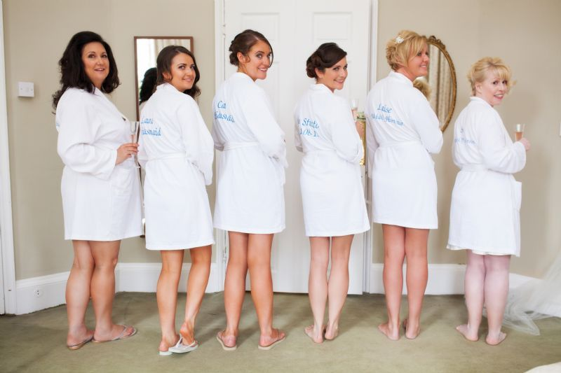 Nice Personalised Dressing Gowns For Weddings Sketch - Best Evening ...