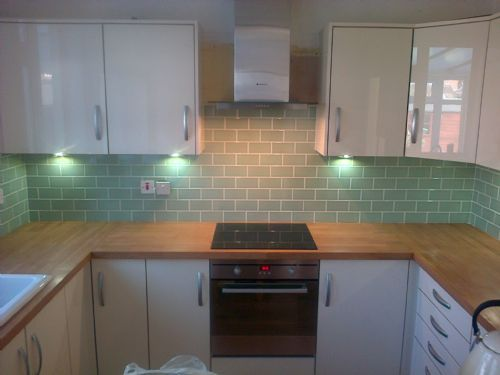 Floor Tile White Kitchen