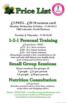 Discover Personal Training Health Coach In Portsmouth
