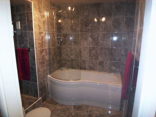 Dh bathrooms shower rooms bathroom fitter in grantham uk for Bathroom b q offers