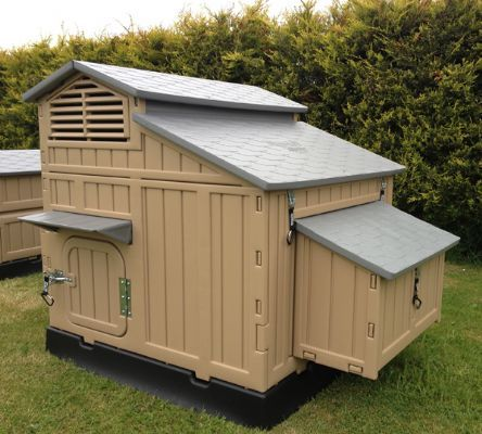 The clever coop company chicken houses in castle bytham for Maintenance free chicken coop