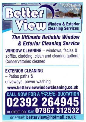 Better View Window Cleaning Services Waterlooville 14 Reviews Window Cleaner Freeindex