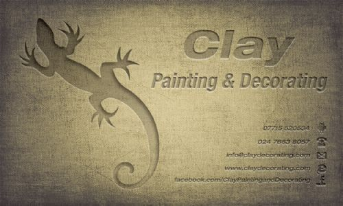 clay painting and decorating decorator in coventry uk. Black Bedroom Furniture Sets. Home Design Ideas