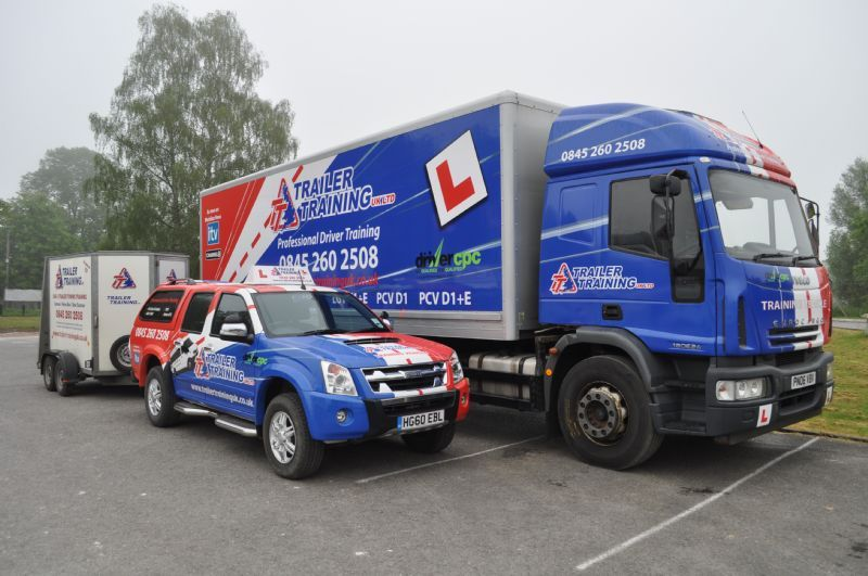 In Car Driving Lessons >> Trailer Training UK Ltd, Winchester | Commercial Vehicle Driver Training Company - FreeIndex