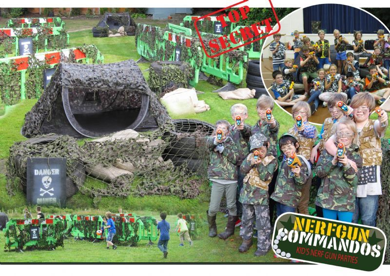 Nerf Gun Commandos
