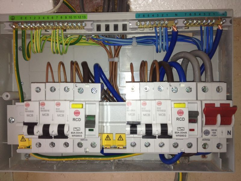 Ac Unit Electrical Wiring
