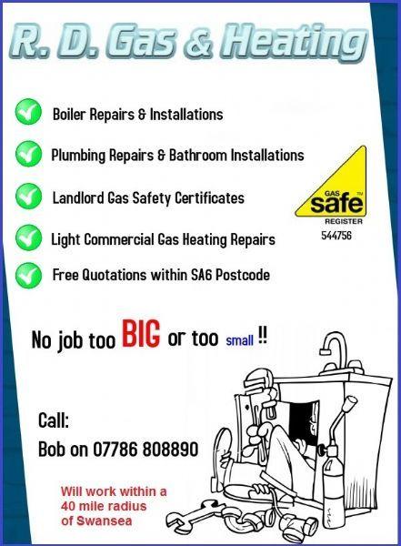 R D Gas Amp Heating Swansea Gas Engineer Freeindex