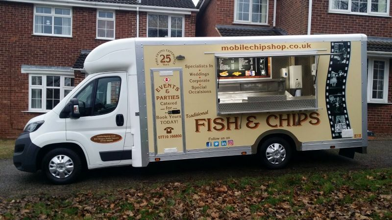 Mobile Chip Shop, Leicester   Outside Caterer - FreeIndex
