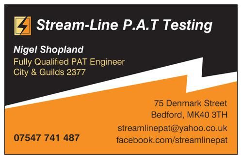 Stream line pat testing electrical inspector in bedford uk stream line pat testing reheart Choice Image