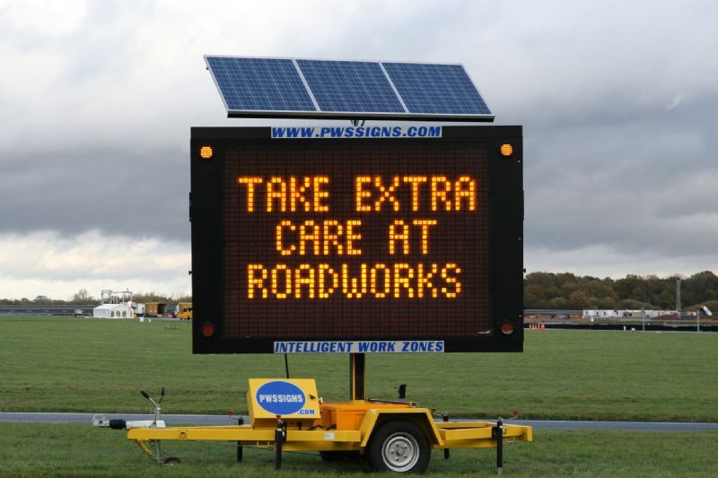 Mobile Variable Message Signs Iver Traffic Management
