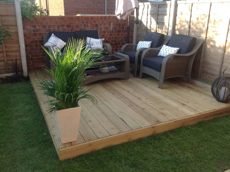 Garden Landscaping Wakefield : And fencing landscape gardener in new sharlston wakefield uk