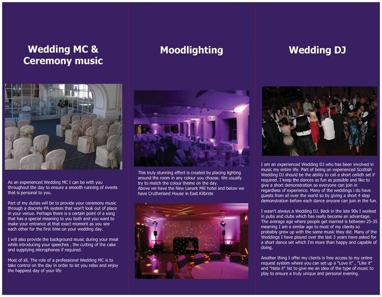 Wedding Dj Glasgow - Wedding Entertainer in Wishaw (UK)