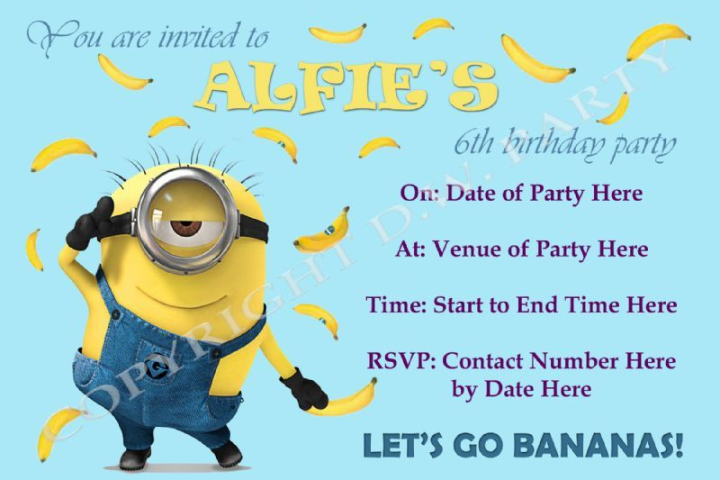 DW Party Designs Childrens Party Organiser in The City – Childrens Party Invites Uk