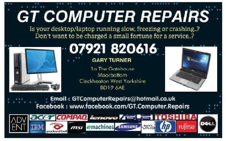 GT Computer Repairs Cleckheaton