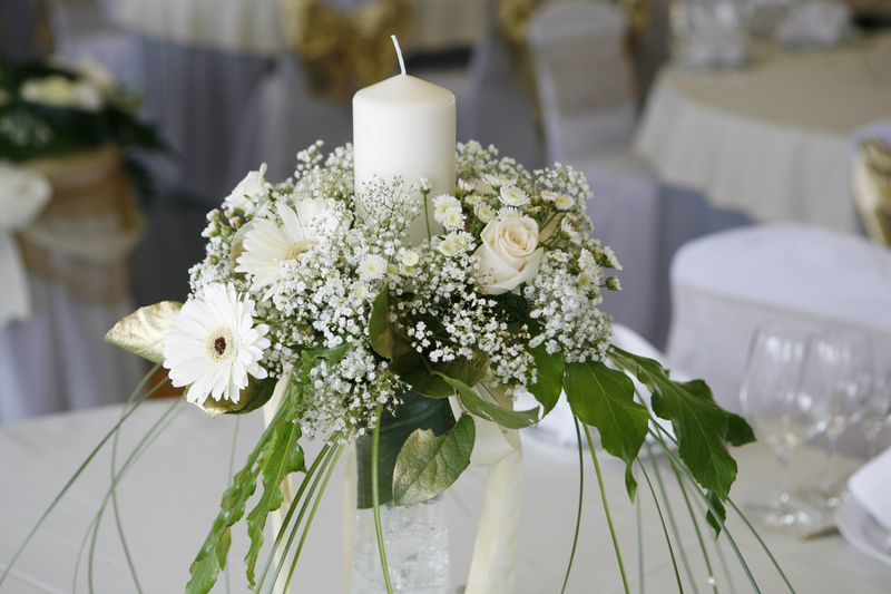 Artificial flower studio sheffield florist freeindex - Arreglos con velas ...