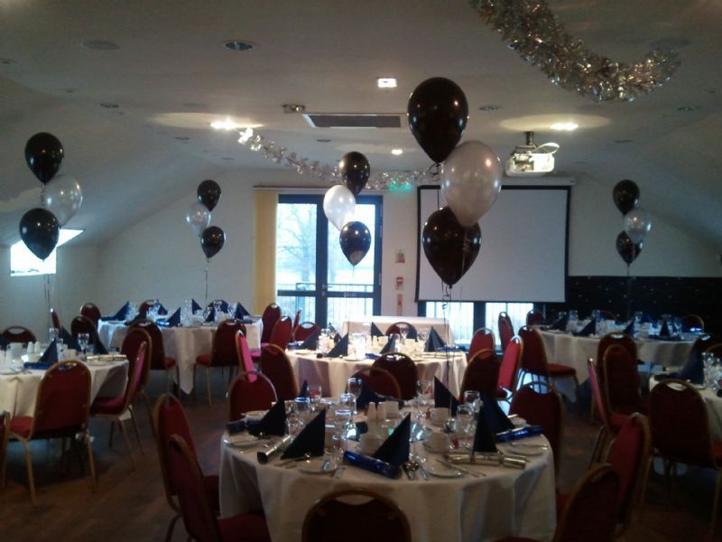 Party people balloon company party balloon provider in for Balloon decoration company