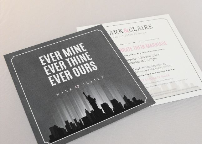 Bespoke Wedding Invitations Wedding Stationery Supplier in Stoke