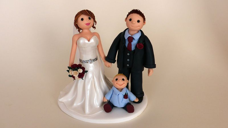 wedding cake toppers with baby boy birdseed keepsakes cake topper maker in hove uk 26625