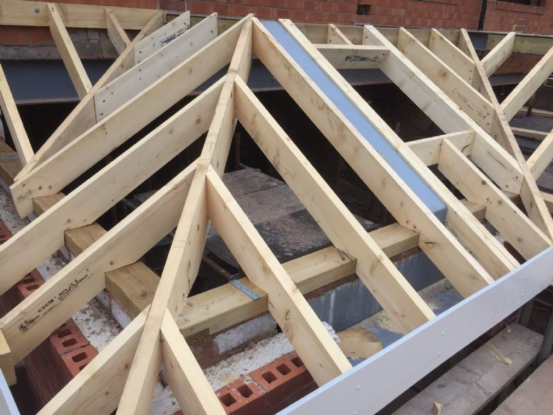 Traditional Timber Roof Construction Coventry Carpenter