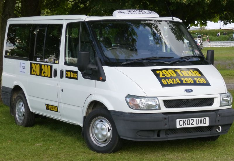 290 Taxi Minibuses Minibus Taxi Company In Bexhill On