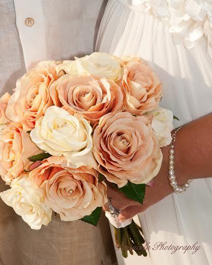 Peach silk flowers beautiful flower 2017 3 reasons you ll love silk wedding flowers afl mightylinksfo