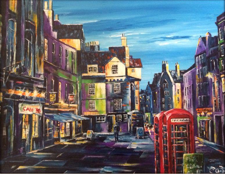 Edinburgh Art Prints Dalkeith Landscape Artist Freeindex