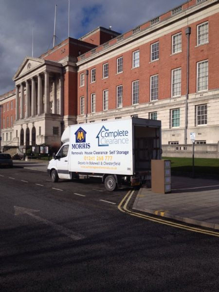 Morris Removals Ltd Bakewell 1 Review Removal Company