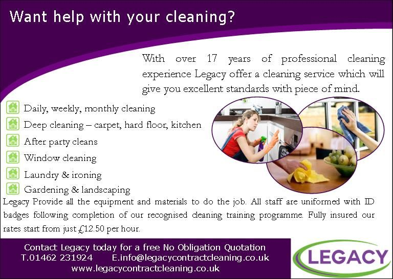 Legacy Contract Cleaning Ltd Hitchin 4 Reviews