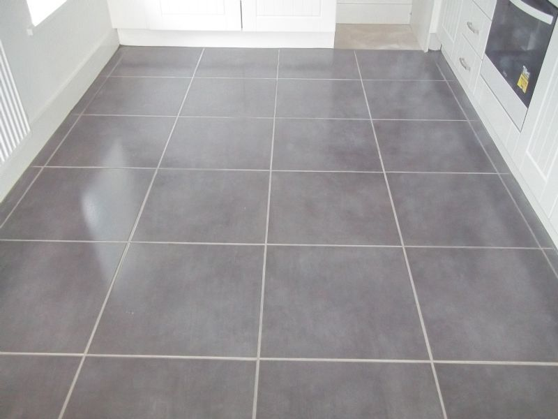 Ceramic Wood Tile Kitchen Floor