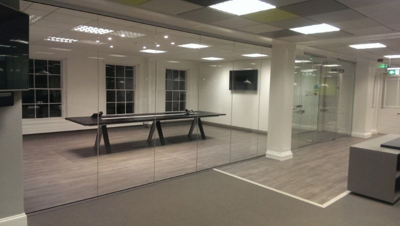 Bristol Glass Partitions Glass Partitioning Company In