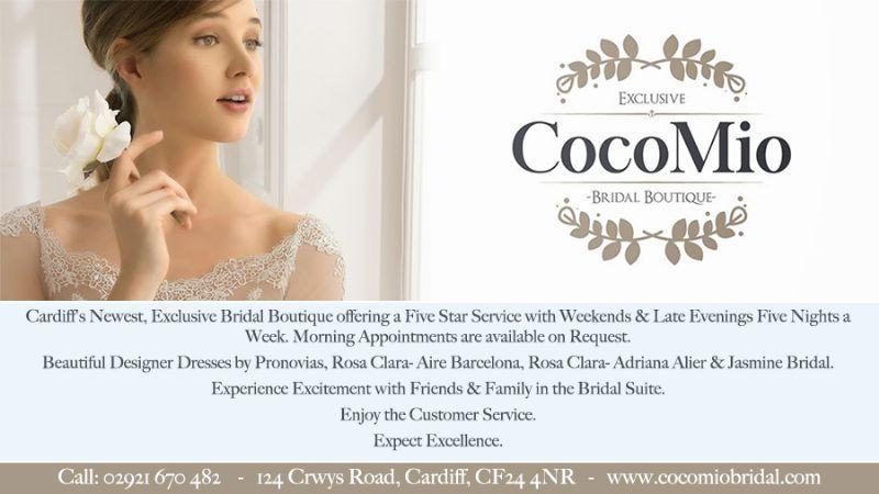 5bf8f47a1c43 CocoMio Bridal Boutique, Cardiff | Bridal Wear Shop - FreeIndex