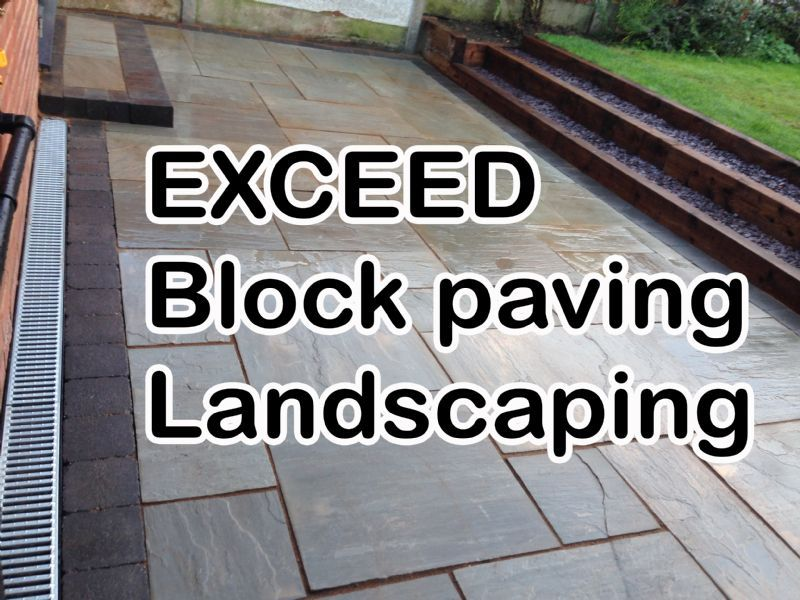 Exceed Ultimate Paving Decking Landscaping Fencing And