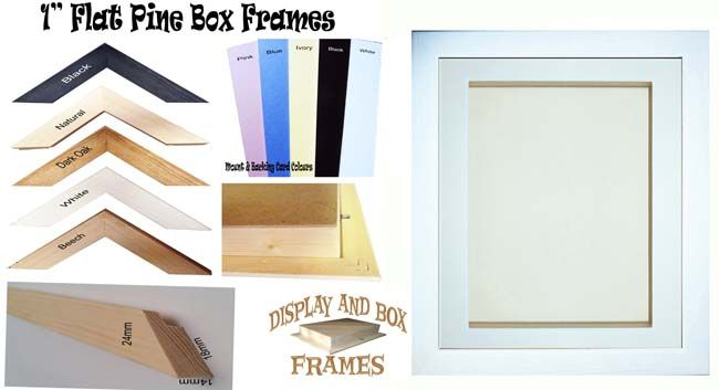 Display and Box Frames Company, Torpoint | Arts and Crafts Supplier ...