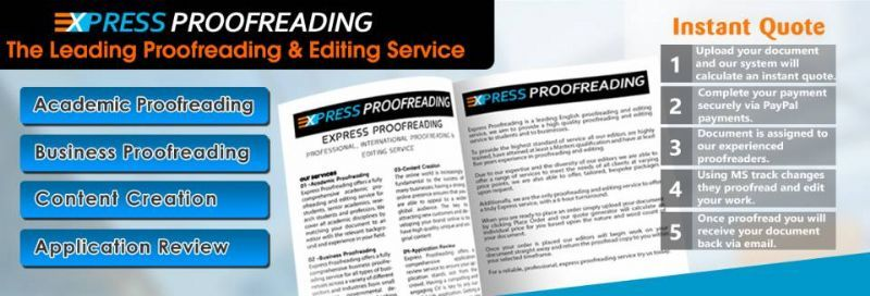 proofreading service reviews In addition to our thesis proofreading & editing service all reviews were submitted due to the scribbr did an amazing job up front on asking me about my.