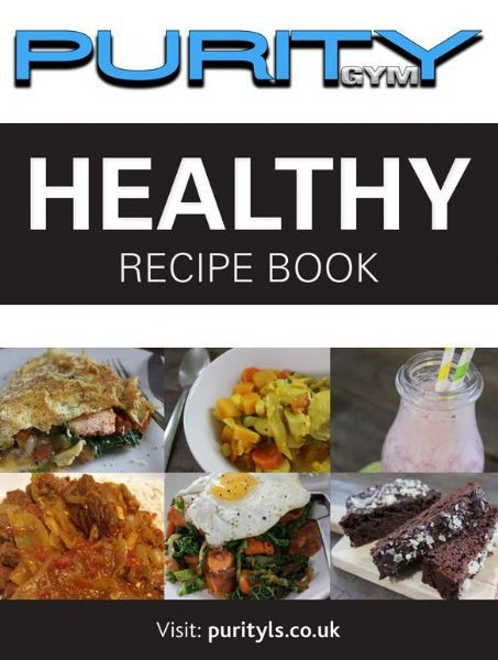 Purity Cookbook Green Cover ~ Purity lifestyle studios gym in wellington telford uk