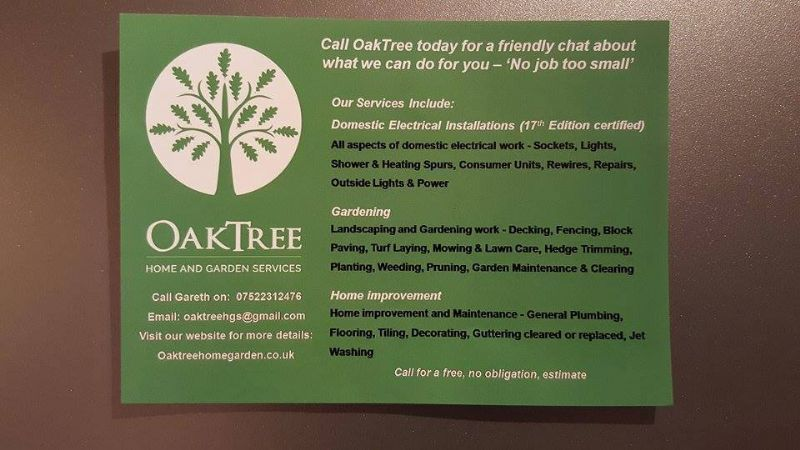 oaktree home and garden services  worksop