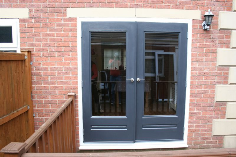 Rock doors leeds thornton product ex le for Upvc french doors leeds