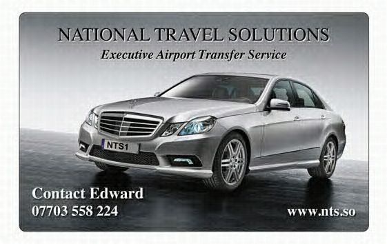 Ace private hire airport transfer company in heap bridge for Mercedes benz business cards