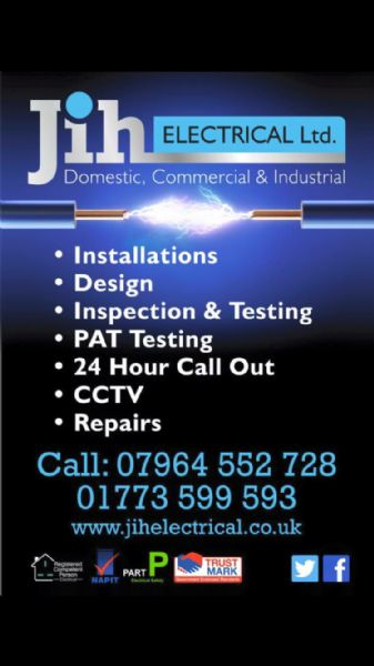 Jih Electrical Ltd  Belper
