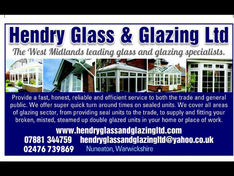 Hendry Glass And Glazing Ltd Nuneaton Glazier Freeindex