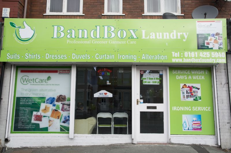 Bandbox Laundry And Drycleaners Manchester Dry Cleaner