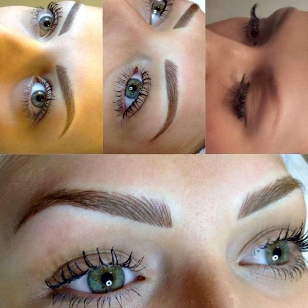 Million dollar brows permanent makeup supplier in for Eyebrow tattoo men