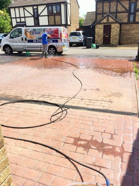 Clean n 39 coat driveway cleaning company in bristol uk for Driveway cleaning companies