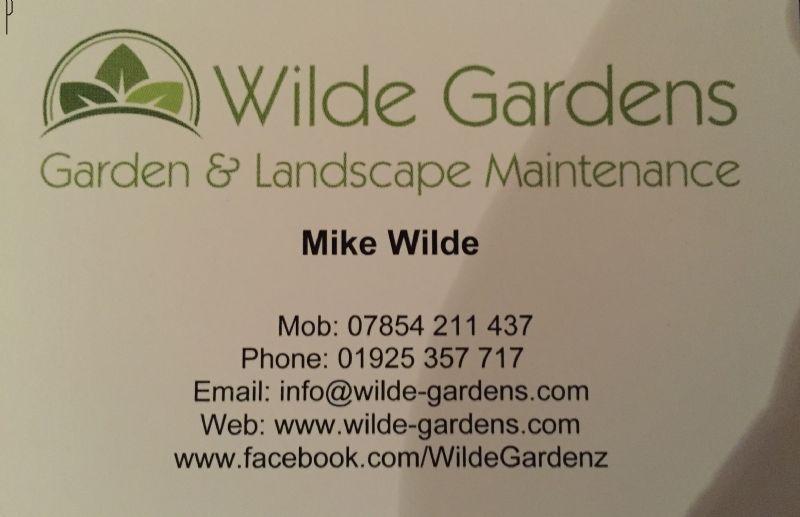 3 photos - Wilde Garden