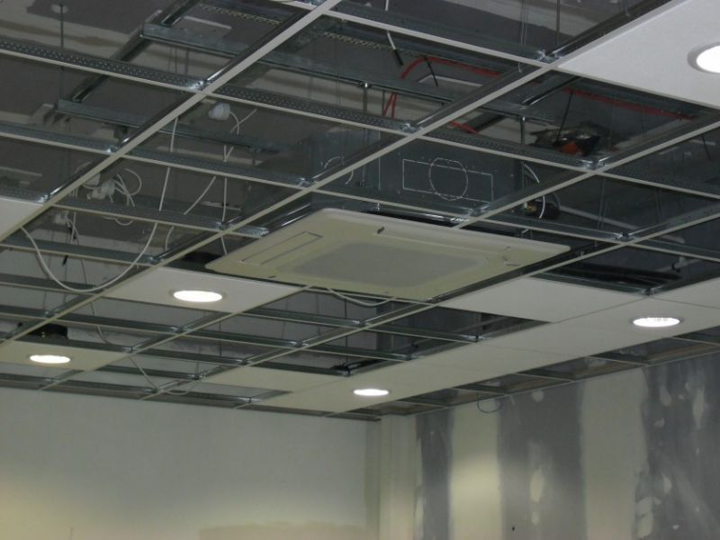 Dm Ceiling Amp Partitioning Ltd Glasgow Suspended