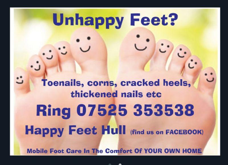 Happy Feet Hull - Foot Health Practitioner in Hull (UK)