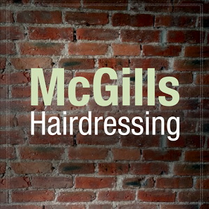 Image result for McGill's Hairdressing LOGO